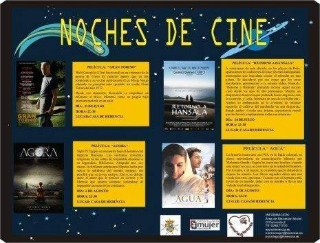 Noches de cine herencia 2010