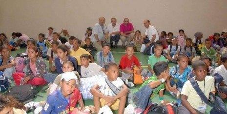Rececpci%C3%B3n ni%C3%B1os saharauis1 465x235 - Herencia volvió a ser Centro de Recepción de los Niños saharauis