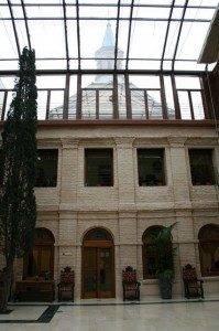 el Convento de la Merced desde el patio del Ayto1
