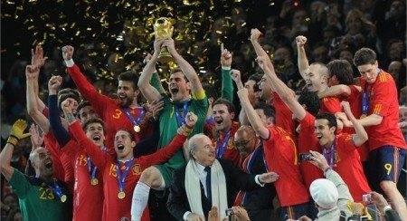 España campeona del mundo fútbol