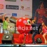 Herencia estuvo con 'La Roja' en la celebración oficial 6