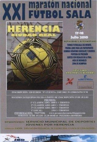 XXI Maratón Nacional de Fútbol Sala en Herencia