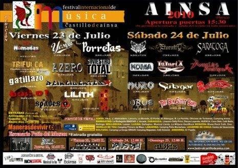 Yeska estará en el Festival Castillo de Ainsa 3