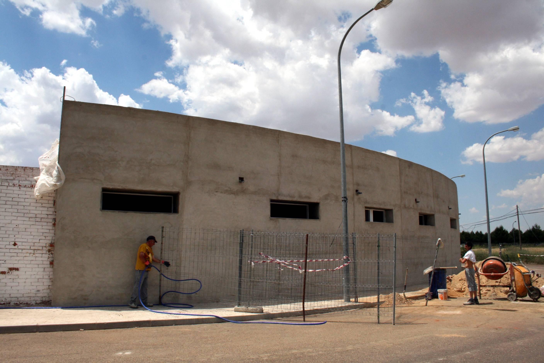 plaza de toros de herencia - obras