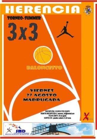 3x3 torneo basket summer herencia