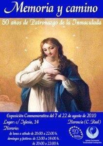 """Inmaculada 800px 212x300 - El sábado se inaugura la exposición """"Memoria y Camino. 50 años de Patronazgo de la Inmaculada"""""""