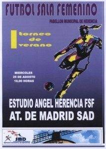 futbol sala femenino 213x300 - Pretemporada del Fútbol Sala Femenino local