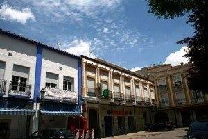 Plaza de España en Herencia