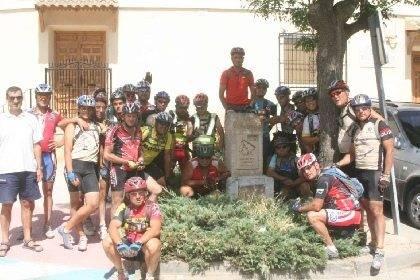 ruta de Aragar Lorca Santiago 2008 - La Ruta del Argar (Lorca-Santiago) pasó ayer por Herencia