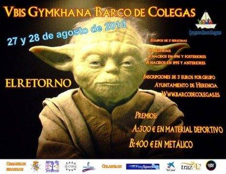 27 y 28 de agosto vuelve la Gymkhana Barco de Colegas 3