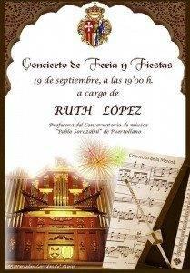CARTEL CONCIERTO organo de La Merced Herencia 209x300 - El órgano de la Merced volverá a sonar en la Feria y Fiestas