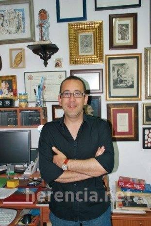 Enrique Rodriguez de Tembleque Saiz Calderon 311x465 - Entrevista al restaurador Enrique Rodríguez de Tembleque