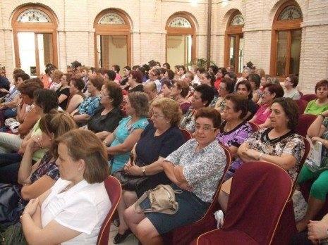Exito Charlas Mujer Herencia1 465x348 - La delegada Carmen Teresa Olmedo inauguró las Jornadas de Salud