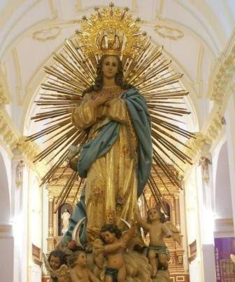 Imagen de la Inmaculada Concepción de la parroquia de Herencia