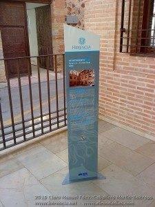 Nueva señalizacion turistica Herencia