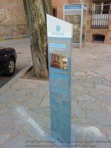 Nueva señalizacion turistica Herencia1