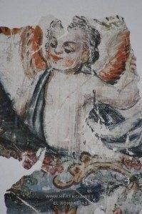 Pintura mural parroquia herencia