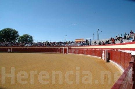 Plaza de Toros en Herencia (Ciudad Real). Feria y Fiestas 2010