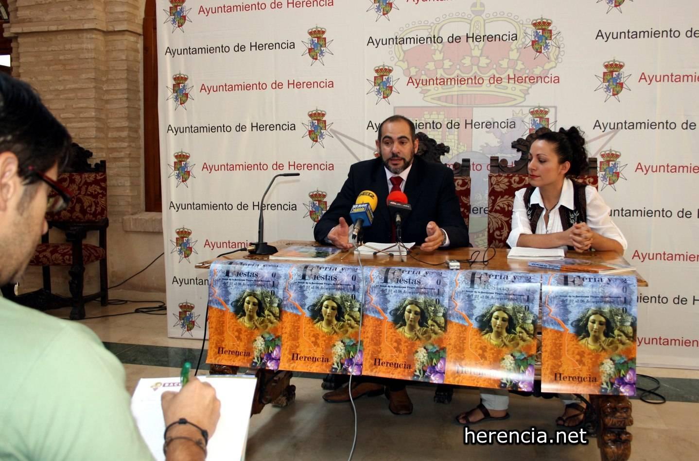 feria y fiestas de Herencia 2010 - El Ayuntamiento de Herencia apuesta fuerte por el Patrimonio y el Turismo