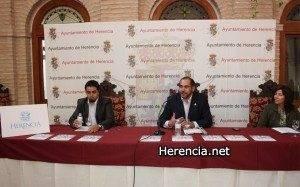 Habla el Alcalde de Herencia (Ciudad Real) en presentación nuevo imagen para el turismo