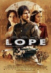 lope la pelicula 210x300 - Cartelera de cine del 3 al 9 septiembre 2010