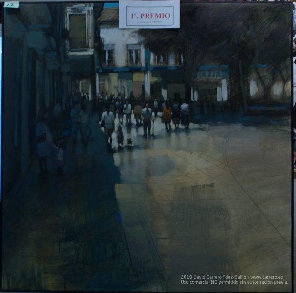 primer premio V certamen pintura r%C3%A1pida 2010 - Fallo del IV Certamen de Pintura Rápida 2010