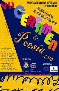 VII CERTAMEN DE POESIA 2010 Herencia Ciudad Real