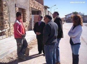 El delegado provincial de empleo visita Herencia 3