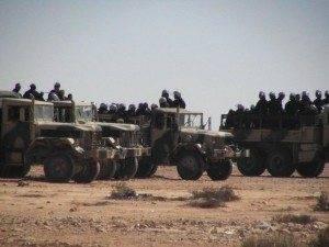 fuerzas represivas 300x225 - Tragedia humana en el Sahara Occidental. Comunicado de la A.A.P.S. El Uali de Herencia