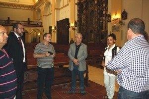 El Director General de Patrimonio de Castilla-La Mancha visitó las obras de la parroquia 3