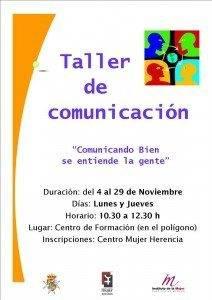 El Centro de la Mujer organiza un Taller de Comunicación 3