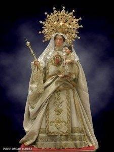 Virgen de la Merced en terracota y madera por José Carlos Gutiérrez 3
