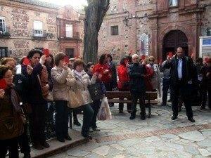 El pueblo de Herencia sacó tarjeta roja al maltrato 5