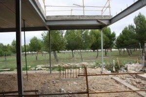 Herencia Parque de la Serna desde las obras del Colegio nuevo