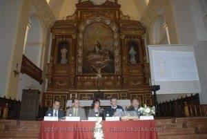 La iglesia parroquial se llenó en la presentación del libro Memoria y Camino 5