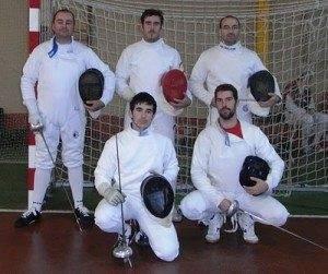 cinco mosqueteros campeonato esgrima Herencia 300x251 - Resultados del Campeonato de CLM de Espada Absoluta