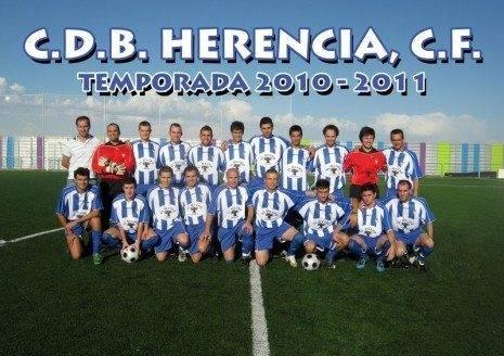 herencia2eqmini 465x328 - El C.D.B. Herencia C.F. se enfrentará el sábado al U.D. Carrión