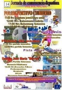 El domingo tendrá lugar una jornada de convivencia deportiva 3