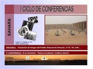 II Charla Ciclo Conferencias Sahara en Herencia