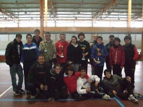 Éxito de participación en el campeonato de ping-pong navideño 3