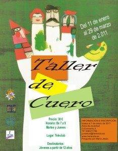 Taller de cuero juventud Herencia 234x300 - Juventud prepara un taller de cuero para principios del 2011