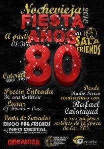 nochevieja 2010-2011 en sala friends Herencia (Ciudad Real)