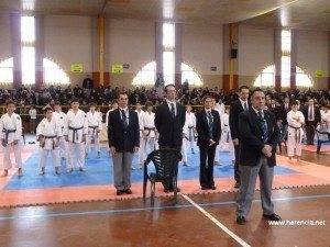 Cerca de 200 karatecas se dieron cita en el Campeonato Provincial celebrado en Herencia 1