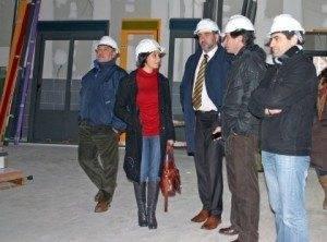La portavoz del Ejecutivo regional visitó las obras del C.P nº2 de Herencia 1