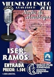 Monologo de Iser Ramos en Herencia 212x300 - Vuelven los monólogos al Friend's