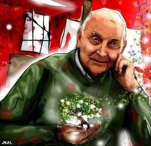 dibujo marcos 300x291 - Yeska estrena el homenaje al poeta Marcos Ana en el Diario Público