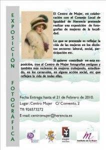 exposicion de fotografias 2 212x300 - El Centro de la Mujer quiere rendir homenaje a la mujer herenciana con una exposición