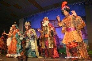 herencia reyes magos carnavalescos. foto archivo