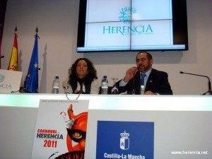 herenciafitur 2011 300x225 - Herencia promociona su carnaval y su turismo en FITUR 2011