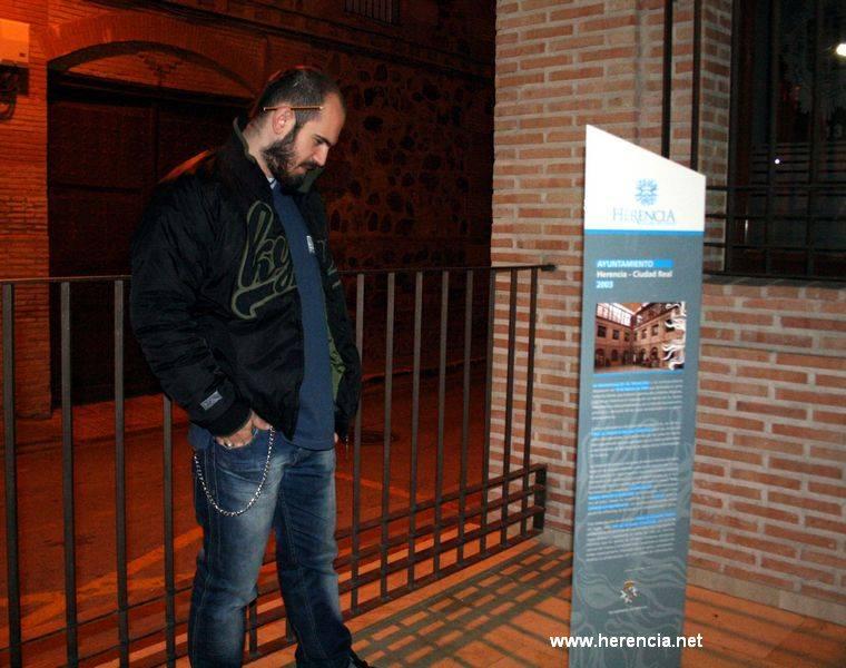 monolito tusrístico herencia - Herencia presentará en Fitur 2011 su nueva imagen turística y los futuros proyectos